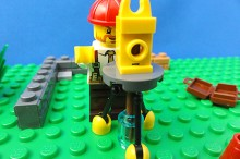 レゴ測量中